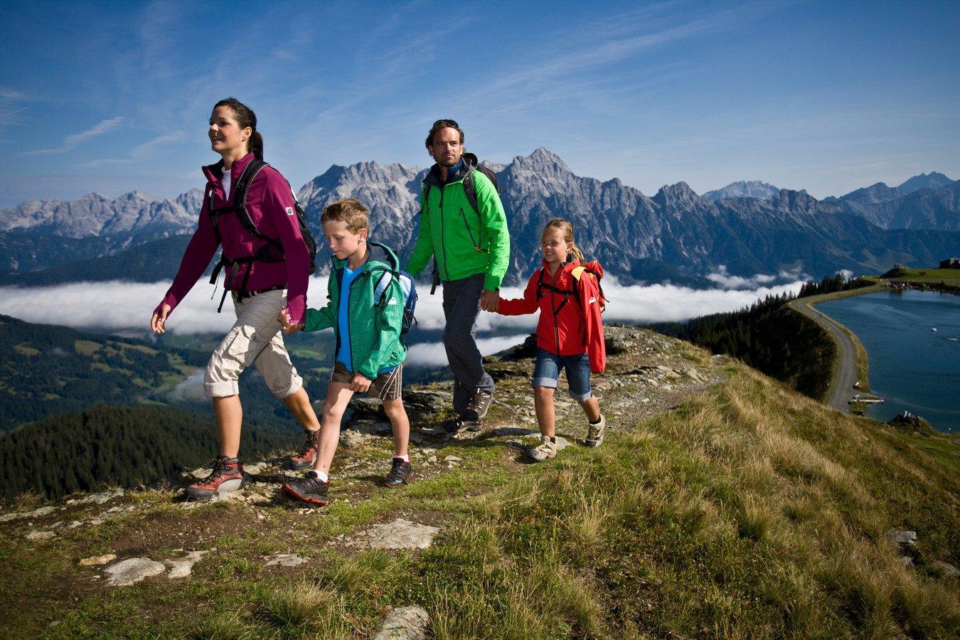 Einfach wandern: Vom Schörhof auf die Berge in Saalfelden Leogang