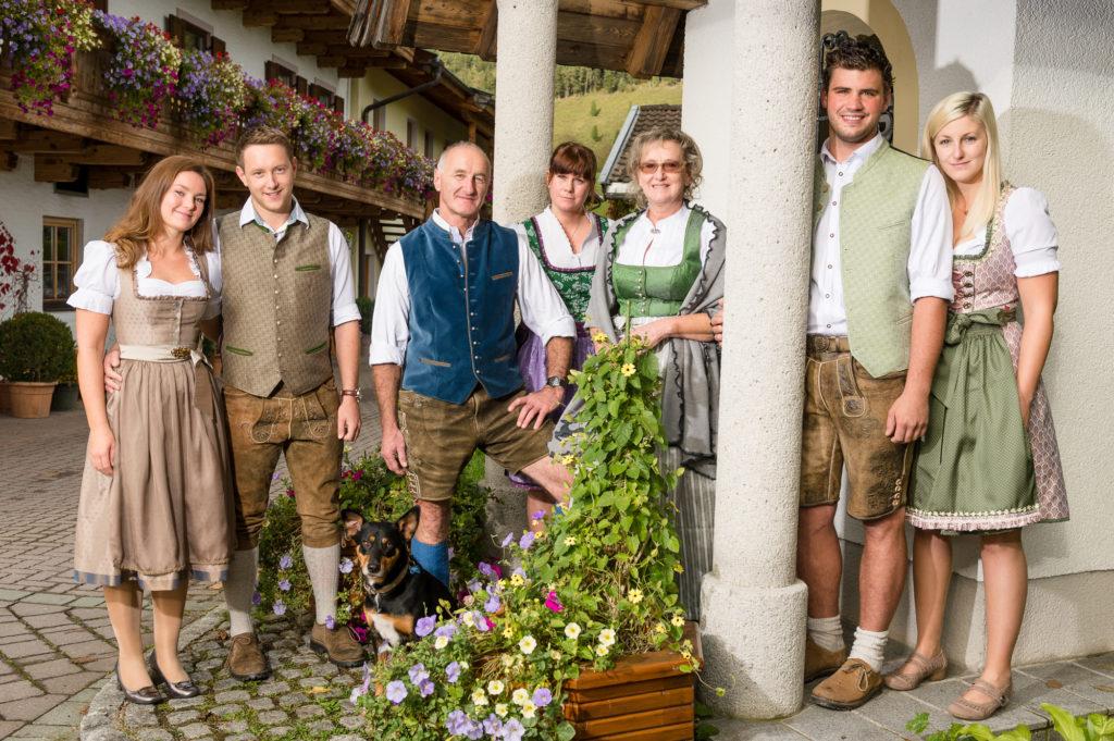 Schörhof - Gastgeberfamilie Dankl