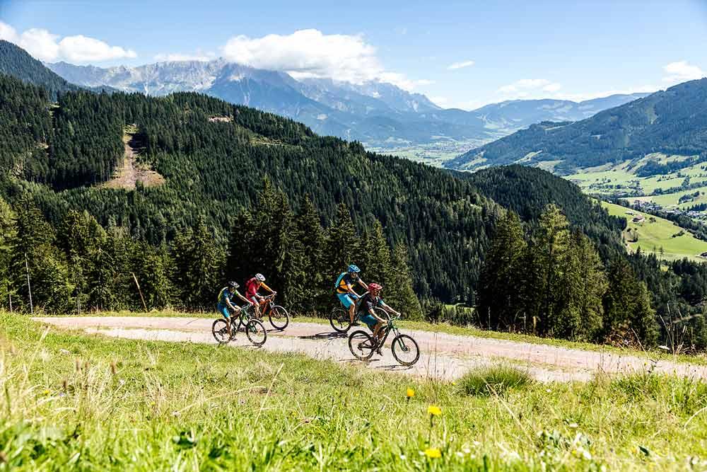 Bike - Touren vom Schörhof aus