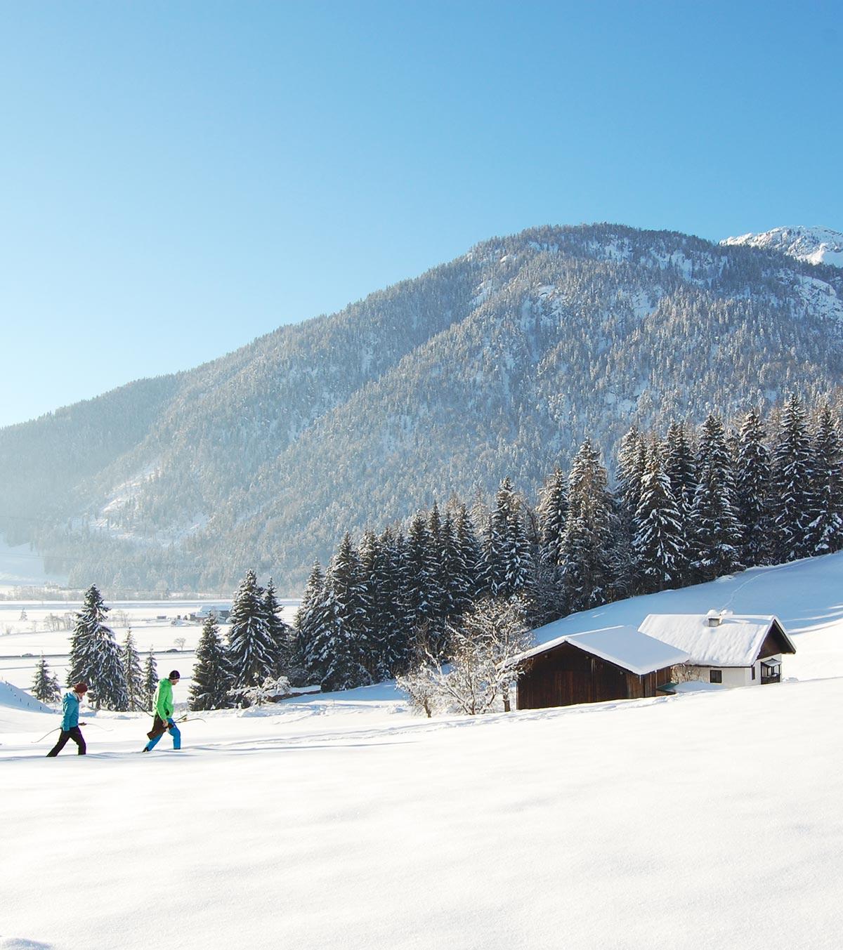 Bogenschießen im Winter
