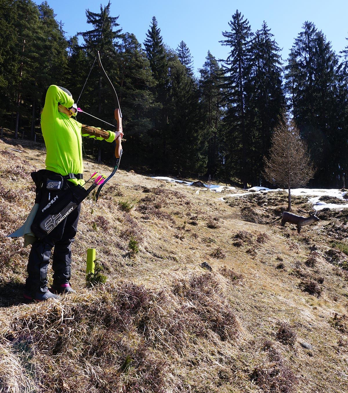 Bogenschießen am Schörhof im Pinzgau