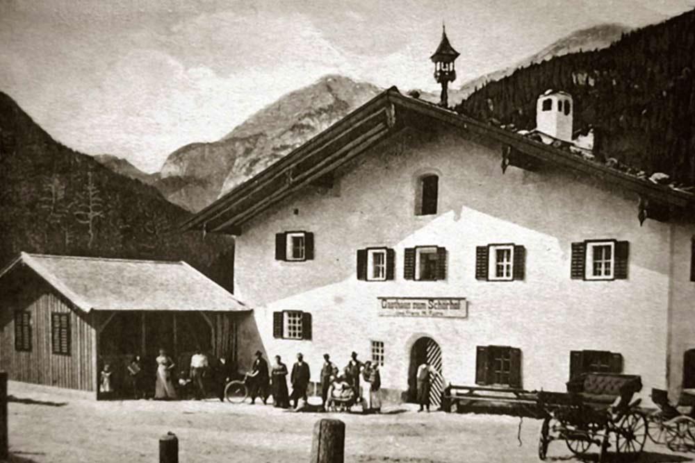 Schörhof historisch - Geschichte des traditionsreichen Schörhofs