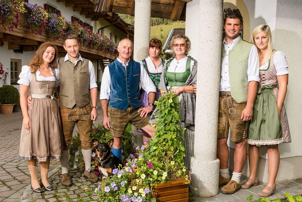 Familie Dankl - Ihre Gastgeber am Schörhof