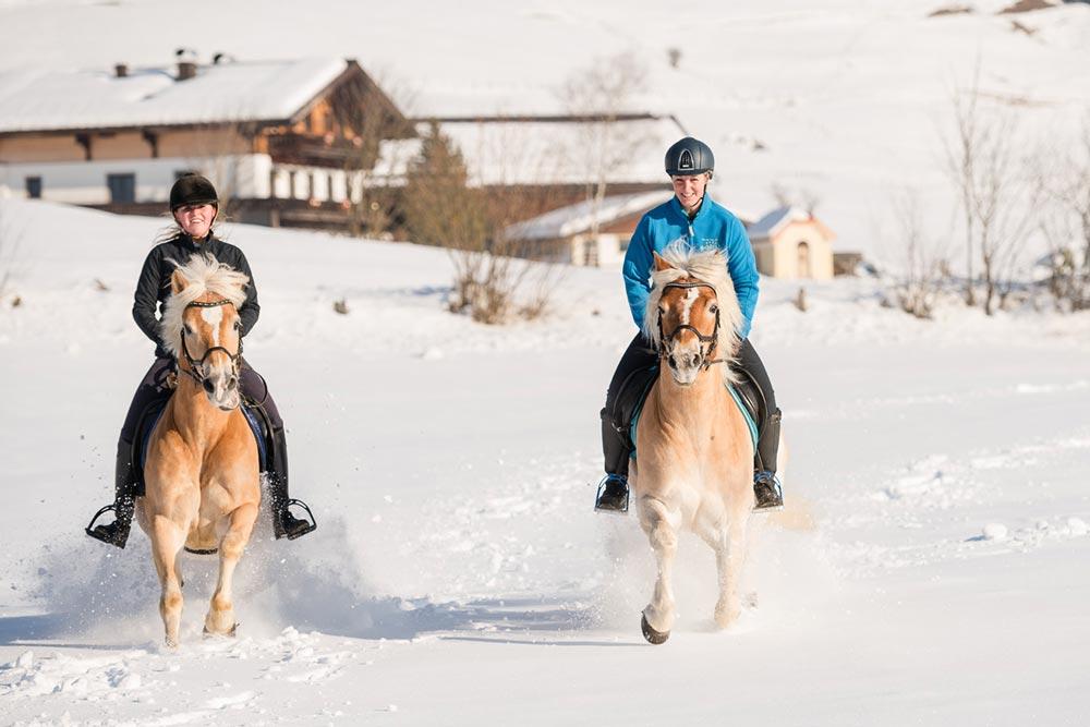 Reiten im Winterurlaub
