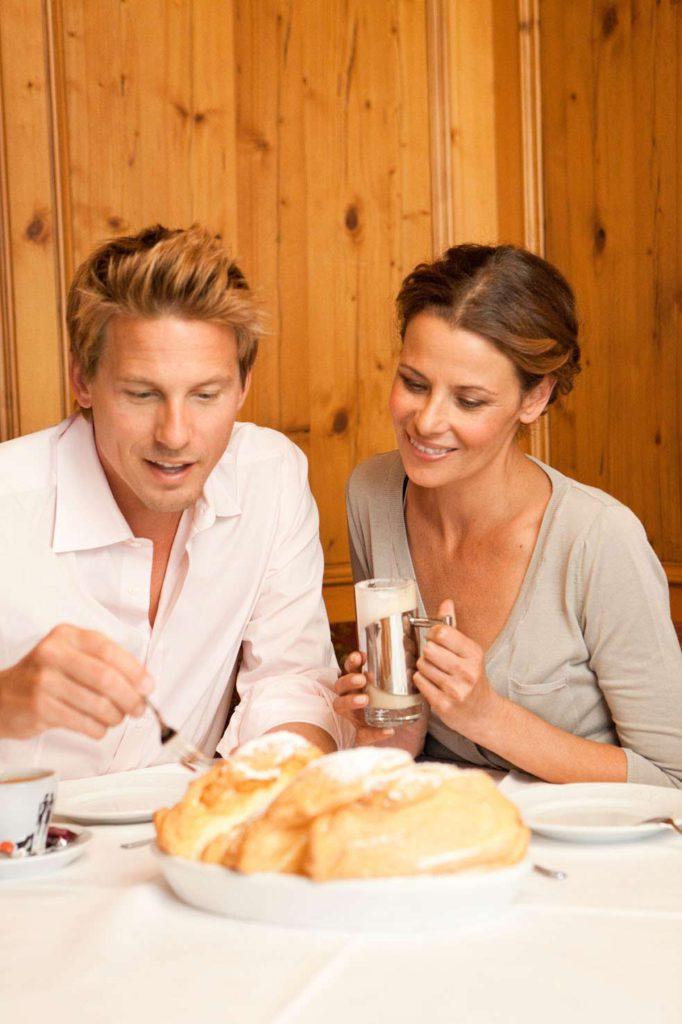 Restaurant im Schörhof serviert Österreichische Spezialitäten
