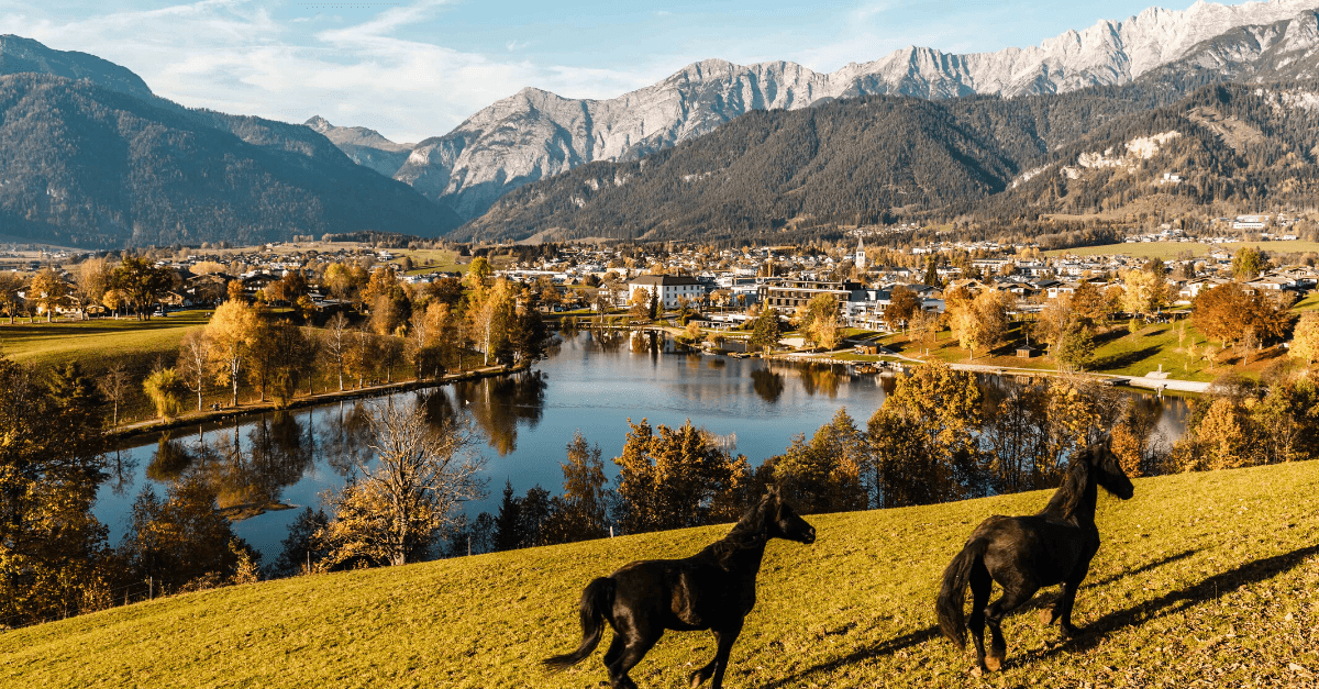 Herbst im Salzburger Land