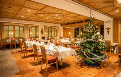Der Große Speisesaal im Schörhof