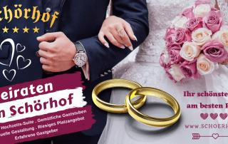 Hochzeit Schörhof