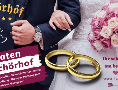 Hochzeit am Schörhof – Heiraten in Saalfelden Leogang