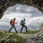 Berge Wanderung Alpen Ausblick Steinberge