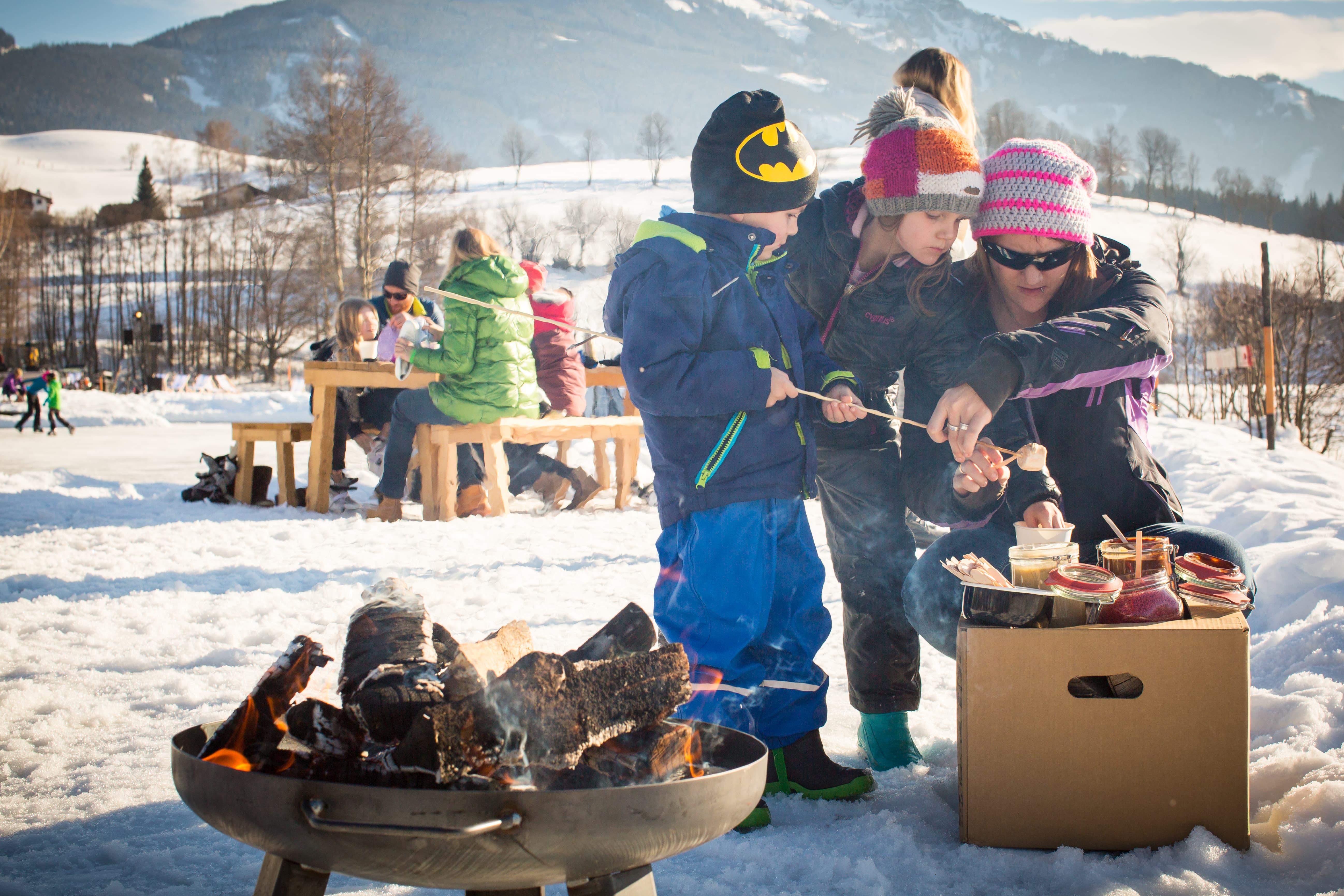 Schnäppchen Urlaub Familie Winter Österreich