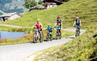 Fahrrad Familie
