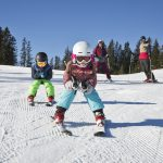 Kinder Skifahren Saalfelden Leogang
