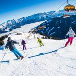 Skigebiet in Saalfelden Leogang